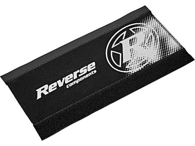 Reverse Neoprene Chainstay Guard black/white